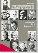Biographisches Lexikon der Deutschen Burschenschaften Teil 08. Supplement L-Z
