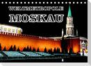 Weltmetropole Moskau (Tischkalender 2022 DIN A5 quer)
