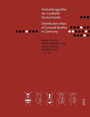 Trautner, Jürgen / Fritze, Michael-Andreas et al. Verbreitungsatlas der Laufkäfer Deutschlands - Distribution Atlas of Ground Beetles in Germany. Books on Demand, 2014.