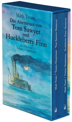 Mark Twain / Tatjana Hauptmann / Tatjana Hauptmann / Lore Krüger. Die Abenteuer von Tom Sawyer und Huckleberry Finn. Diogenes, 2010.