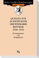 Quellen zur Außenpolitik der Weimarer Republik