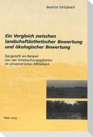 Ein Vergleich zwischen landschaftsästhetischer Bewertung und ökologischer Bewertung