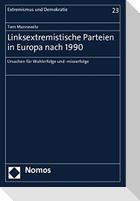 Linksextremistische Parteien in Europa nach 1990