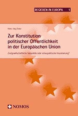 Trenz, Hans-Jörg. Zur Konstitution politischer Ö