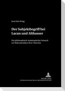 Der Subjektbegriff bei Lacan und Althusser