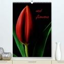 red flowers (Premium, hochwertiger DIN A2 Wandkalender 2021, Kunstdruck in Hochglanz)