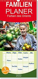 Farben des Orients (Wandkalender 2022 , 21 cm x 45 cm, hoch)
