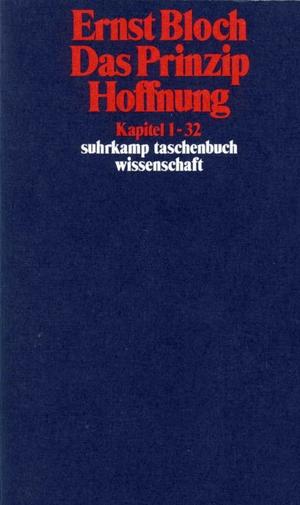 Ernst Bloch. Gesamtausgabe in 16 Bänden. stw-Werkausgabe. Mit einem Ergänzungsband - Band 5: Das Prinzip Hoffnung. Suhrkamp, 1985.