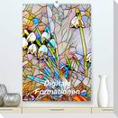 Digitale Formationen (Premium, hochwertiger DIN A2 Wandkalender 2021, Kunstdruck in Hochglanz)