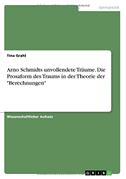 """Arno Schmidts unvollendete Träume. Die Prosaform des Traums in der Theorie der """"Berechnungen"""""""