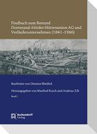 Findbuch zum Bestand Dortmund-Hörder Hüttenunion AG und Vorläuferunternehmen (1841-1966)