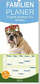 English Bulldog XXL Models (Wandkalender 2022 , 21 cm x 45 cm, hoch)