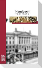 Handbuch des Bundesrates für das Geschäftsjahr 2002/2003