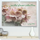pastel flower collection (Premium, hochwertiger DIN A2 Wandkalender 2021, Kunstdruck in Hochglanz)