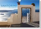 Santorini Fira & Firostefani (Wandkalender 2022 DIN A4 quer)