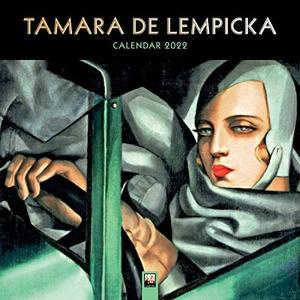 Flame, Tree (Hrsg.). Tamara de Lempicka 2022 - Original Flame Tree Publishing-Kalender [Kalender]. Browntrout Verlags GmbH, 2021.