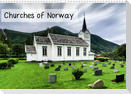 Churches of Norway (Wall Calendar 2021 DIN A3 Landscape)