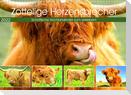 Zottelige Herzensbrecher. Schottische Hochlandrinder zum Verlieben (Wandkalender 2022 DIN A3 quer)