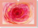 Neue Aquarelle (Wandkalender 2022 DIN A4 quer)