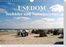 USEDOM - Seebäder und Naturparadies (Wandkalender 2021 DIN A4 quer)