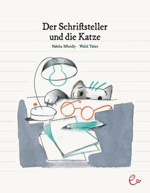 Mheidly, Nabiha. Der Schriftsteller und die Katze. Rieder, Susanna Verlag, 2020.