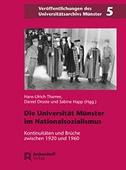 Die Universität Münster in der Zeit des Nationalsozialismus