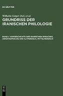 Vorgeschichte der iranischen Sprachen, Awestasprache und Altpersisch, Mittelpersisch