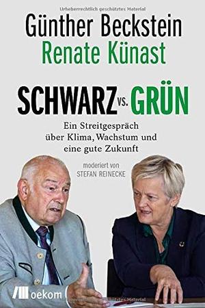 Beckstein, Günther / Renate Künast. SCHWARZ vs.