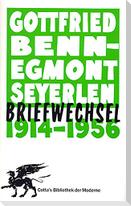 Briefwechsel 1914 - 1956
