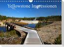 Yellowstone Impressionen (Wandkalender 2022 DIN A4 quer)