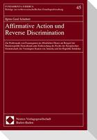 Affirmative Action und Reverse Discrimination