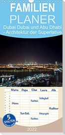 Dubai und Abu Dhabi - Architektur der Superlative (Wandkalender 2022 , 21 cm x 45 cm, hoch)