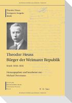 Bürger der Weimarer Republik