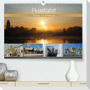 Flussfahrt Moskau - St. Petersburg (Premium, hochwertiger DIN A2 Wandkalender 2022, Kunstdruck in Hochglanz)