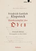 "Handexemplar der ""Oden"""