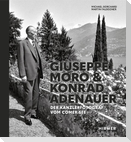 Giuseppe Moro und Konrad Adenauer