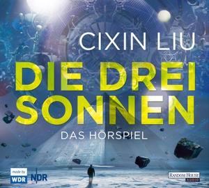 Cixin Liu / Martina Hasse / Young-Shin Kim / Falk Rockstroh / Carlos Lobo / Thomas Loibl / Katharina Schmalenberg / Martin Bross. Die drei Sonnen. Random House Audio, 2018.