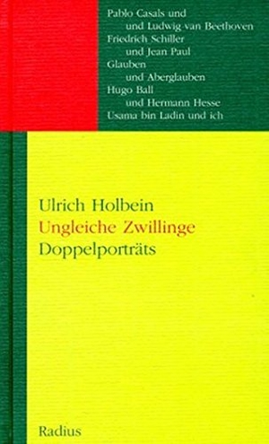 Holbein, Ulrich. Ungleiche Zwillinge - Doppelportr