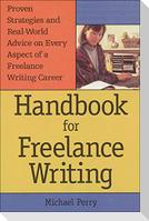 Handbook for Freelance Writing