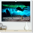 Cenoten Tauchen  (Premium, hochwertiger DIN A2 Wandkalender 2022, Kunstdruck in Hochglanz)