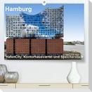 Hamburg. HafenCity, Kontorhausviertel und Speicherstadt. (Premium, hochwertiger DIN A2 Wandkalender 2021, Kunstdruck in Hochglanz)