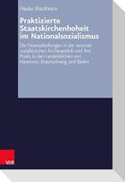 Praktizierte Staatskirchenhoheit im Nationalsozialismus