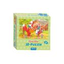 Trötsch Fuchs und Elster 3D Puzzle Apfelbaum