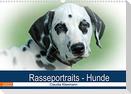 Rasseportraits - Hunde (Wandkalender 2022 DIN A3 quer)