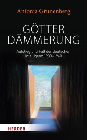 Antonia Grunenberg. Götterdämmerung - Aufstieg und Fall der deutschen Intelligenz 1900-1940. Walter Benjamin und seine Zeit. Verlag Herder, 2018.