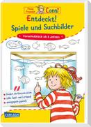 Conni Gelbe Reihe (Beschäftigungsbuch): Entdeckt! Spiele und Suchbilder