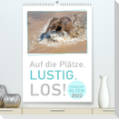 TIERISCHES GLÜCK (Premium, hochwertiger DIN A2 Wandkalender 2022, Kunstdruck in Hochglanz)