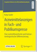 Arzneimittelanzeigen in Fach- und Publikumspresse