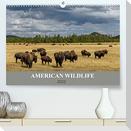 American Wildlife (Premium, hochwertiger DIN A2 Wandkalender 2022, Kunstdruck in Hochglanz)