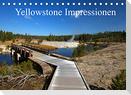 Yellowstone Impressionen (Tischkalender 2022 DIN A5 quer)